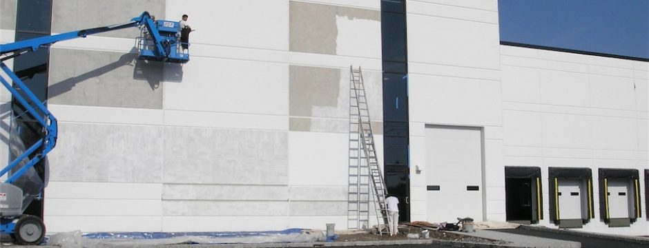 Pharmaceutical Plant Painting & Construction