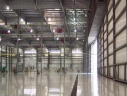 Industrial Manufacturing Line Striping Resinous Flooring Systems
