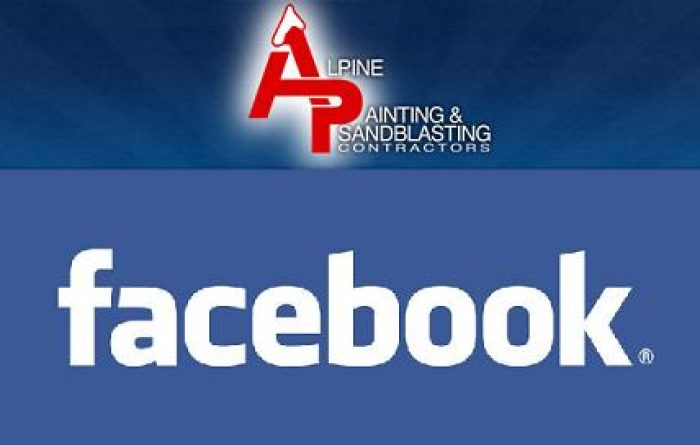 Alpine Painting Launches New Facebook Fan Page