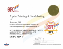 SSPC-QP9 Certification