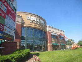 Barnes & Noble- View from Route 3 East Retail Stores and Malls